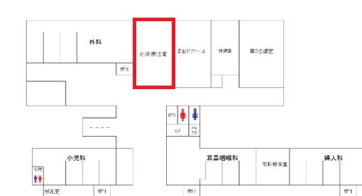 地図(外来化学療法室)