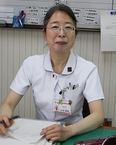 看護局長 白井麻希