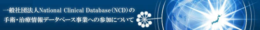 一般社団法人National Clinical Database(NCD)